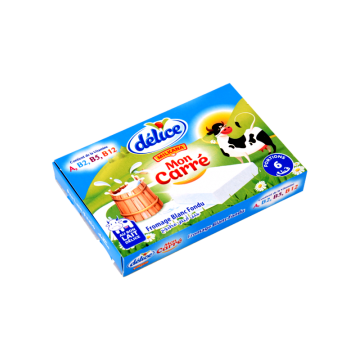 Fromage frais carre delice 6ps